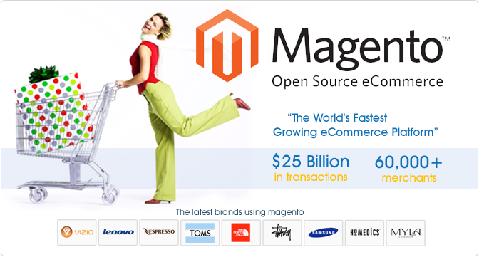 magenta ecommerce website design services in Orange County