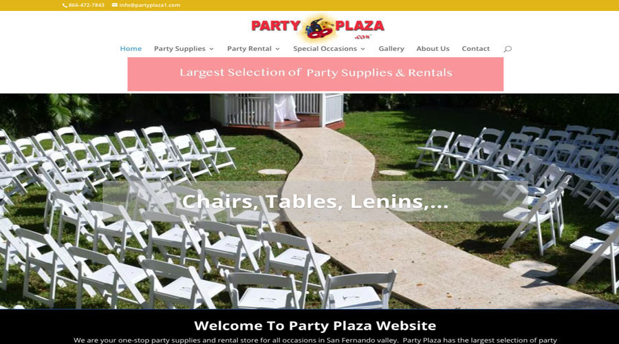 Party Plaza Store